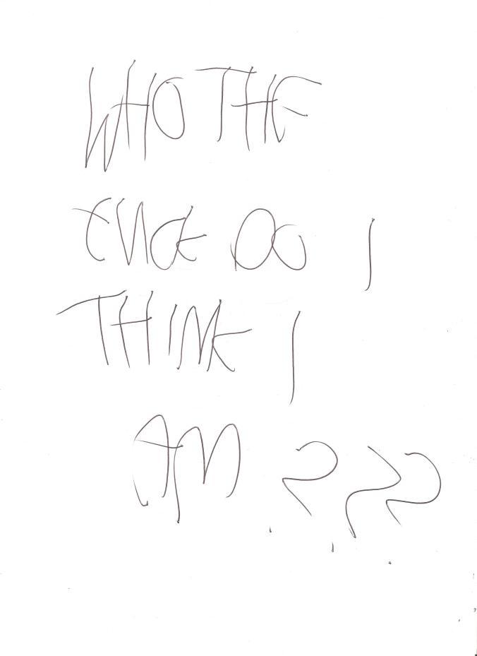 Written Hypothesis