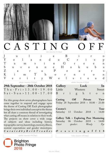 CastingOff_BrightonPhotoFringe2018_Invitation